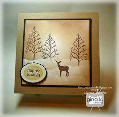Crafting The Web: tWinter Gift Card Holder Tutorial