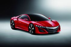 Acura NSX Concept at the Beijing Motor Show HD Wallpaper 2012