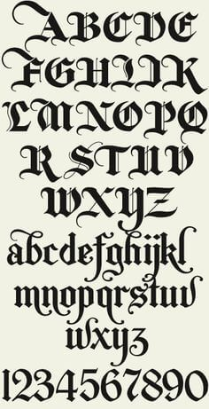 Letterhead Fonts / LHF New English / Old English Style Fonts - . - Letterhead Fonts / LHF New English / Old English Style Fonts – Letterhead Fonts / - Calligraphy Fonts Alphabet, Tattoo Fonts Alphabet, Tattoo Lettering Fonts, Hand Lettering Alphabet, Cool Fonts Alphabet, Calligraphy Tattoo Fonts, Old Calligraphy, Gothic Lettering, Cool Tattoo Fonts