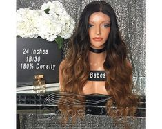 100% Human Hair Ombre 1b/30 Lace Front Wig Real Hair Wigs Best Lace Full Lace Wigs for Black Women