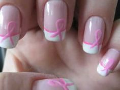 Nail Tutorial: Breast Cancer Awareness Ribbon Nail Art | Daily Nails