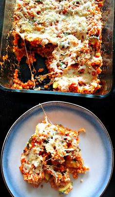 Vegetarian Baked Pizza Couscous – Simply Taralynn (I'll be making mine gluten free of course)!