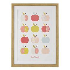 Prent met appels 60 x 80 cm POMIE