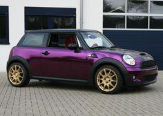 MINI Cooper S chrome purple