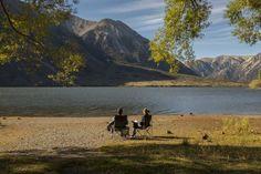 Neuseeland Campingplatz Lake Pearson Roadtrip