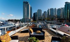 Vancouver,B.C.  outside of a floating home. <3 it!