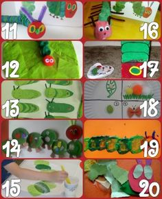60+ Play Ideas Based On The Very Hungry Caterpillar Book By Eric Carle | Powerful Mothering