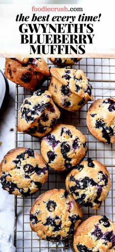 These homemade blueberry muffins are moist, loaded with berries, and so easy to make from scratch I'll never make the boxed kind again. Simple Muffin Recipe, Healthy Muffin Recipes, Healthy Muffins, Healthy Baking, Healthy Brunch, Best Healthy Blueberry Muffin Recipe, Best Muffin Recipe, Blueberry Muffins From Scratch, Homemade Blueberry Muffins