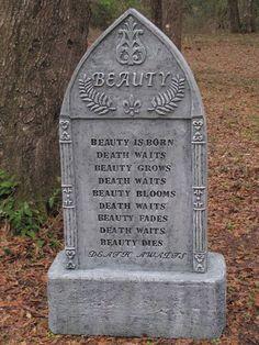 Beauty Tombstone