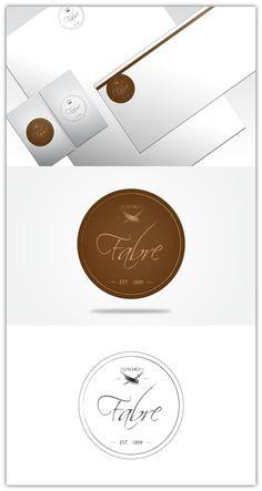Fabre Butchery - Logo Design by Alex Mihailescu, via Behance