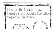 Library Lion Coloring Sheetpdf