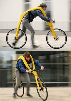 FLIZ – I'm not sure about this design.  Looks kinda funny and awkward... Awkward to ride and awkward to look at.