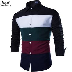 Patchwork Casual Men Shirt Long Sleeve Slim Fit | $ 23.83 | Item is FREE Shipping Worldwide! | Damialeon | Check out our website www.damialeon.com for the latest SS17 collections at the lowest prices than the high street | FREE Shipping Worldwide for all items! | Buy one here http://www.damialeon.com/gustomerd-patchwork-new-fashion-brand-casual-men-shirt-long-sleeve-high-quality-slim-fit-shirt-navy-male-shirt-m-2xl/ |      #damialeon #latest #trending #fashion #instadaily #dress #sunglasses…