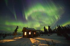 picture of Aurora Borealis in Fairbanks, Alaska
