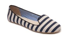 Sheila Navy White Stripes