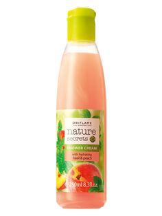 Crema de Ducha Hidratante con Albahaca y Melocotón Nature Secrets | Oriflame Centro América