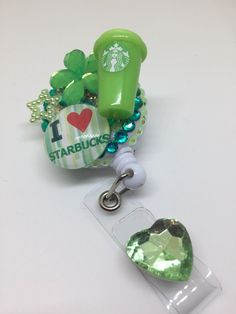 A personal favorite from my Etsy shop https://www.etsy.com/listing/457903548/i-love-starbucks-badge-id-holder