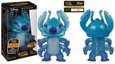 Disney Hikari Blue Glitter Stitch Sofubi Figure Limited Edition of 750 Pieces #Disney