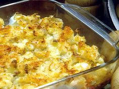 Cottage Potatoes Recipe : Paula Deen : Food Network - FoodNetwork.com - Potatoes with butter, onion, and cottage cheese!!  (hence the name!)