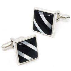 Classic Black Onyx Square Cufflinks