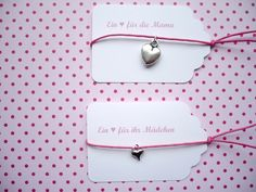 ♥Mama & Tochter Armband ♥ von ♥-A-TAG ! auf DaWanda.com