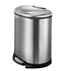 JoyWare 50 Liter Semi-Round Trash Can & Reviews   Wayfair