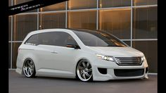 Honda Odyssey, Custom Vans, Jdm Cars, Van Life, Touring, Toyota, Automobile, Mini Vans, Bike