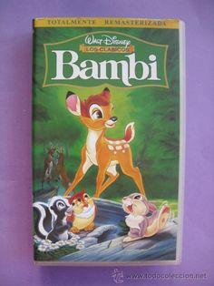 BAMBI. WALT DISNEY. VHS. - Foto 1