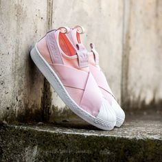 quality design f5651 be14f adidas Superstar SlipOn W Half PinkHalf Pink Ftw White - Footshop Fashion  Moda