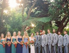Rustic River Runs Through It Wedding: Lindsay + Thatcher - great colors and flowers!