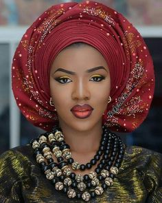 Latest Gele and Turban Styles 2018 and African appearance Gele and Turban Styles Looking acceptable and African appearance is all about developing a appearance that flatters your amount and brings out . African Men Fashion, African Dresses For Women, African Wear, African Attire, African Fashion Dresses, African Beauty, African Women, African Style, Afro