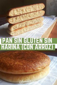 Pan Bread, Keto Bread, Gluten Free Recipes, Bread Recipes, Pan Sin Gluten, Pan Dulce, Kitchen Recipes, Health And Nutrition, Food Inspiration