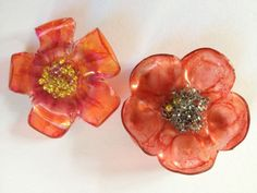 Ashtead Cardmaking and Craft Club - Recycled plastic bottle flowers