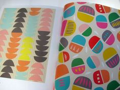 New Book preview : PRINT & PATTERN GEOMETRIC ISBN-13: 978-1780674148. Featured pages - Tammie Bennett