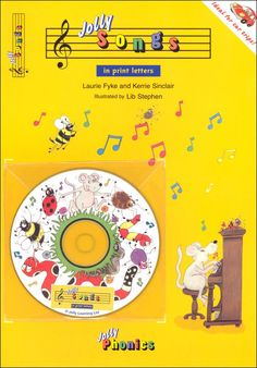 Jolly Songs (for Jolly Phonics – Pupil Book 1) - FREE