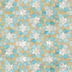Medina jewel glass waterjet mosaic | New Ravenna