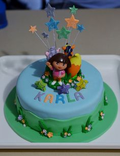 Dora Birthday Cake by smjbk, via Flickr