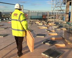 Sundolitt XPS – Waterproof, Load-Bearing ECO Insulation for Prestigious New Edinburgh Development Roof