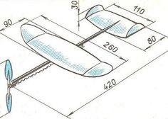 Jak vyrobit letadlo z pěny