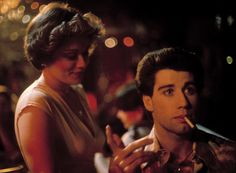 Donna Pescow and John Travolta in Saturday Night Fever (1977), dir. John Badham