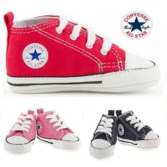 BABY CONVERSE SHOES SOFT TRAINERS BOYS AND GIRLS