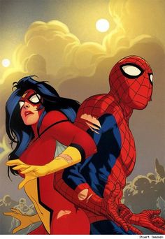 Any chance Jessica Drew will show up around Carol in the Guardians of Galaxy in the forseeable future? Thanks Sir.