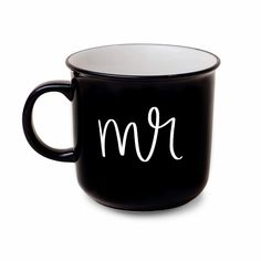 Mr Coffee Mug - Sweet Water Decor - Coffee Mugs - farmhouse decor Coffee Mug Sets, Coffee Cups, Lettering Design, Hand Lettering, Unique Gifts, Great Gifts, Gifts For Your Sister, How To Make Coffee, Good Morning America