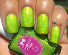 My Nail Polish Obsession: Cupcake Polish in Itsy Bitsy Teeny Bikini...So Fierce!