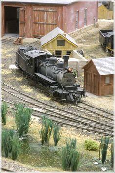 Tom Troughton Sn3 Cimarron and Tall Timbers Railroad