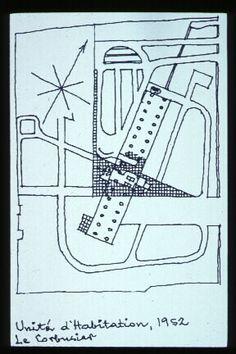Unité d'Habitation site sketch