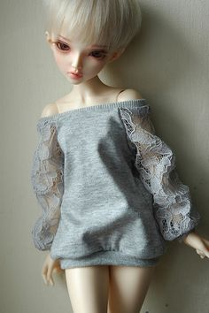 gray glam jersey shirt by aireedhelien on Flickr.