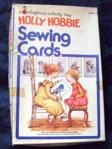 Sewing Cards  i just loved these and  had a holly hobbie bedroom set