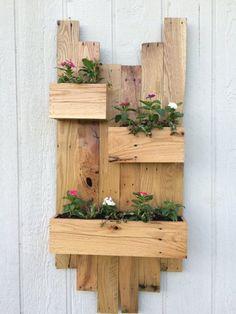 DIY Rustic pallet planter Designs