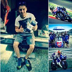 Anche in moto ci vogliono le calze giuste! #GMtester Luca Marconi, Yamaha Team Luca Marconi Fans Group